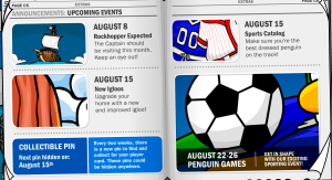 Events,Rockhopper expected to come to cp this friday,tomorrow!