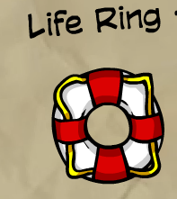 Life Ring-120 coins